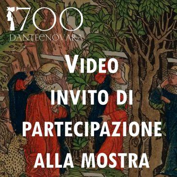 Video invito di partecipazione alla mostra